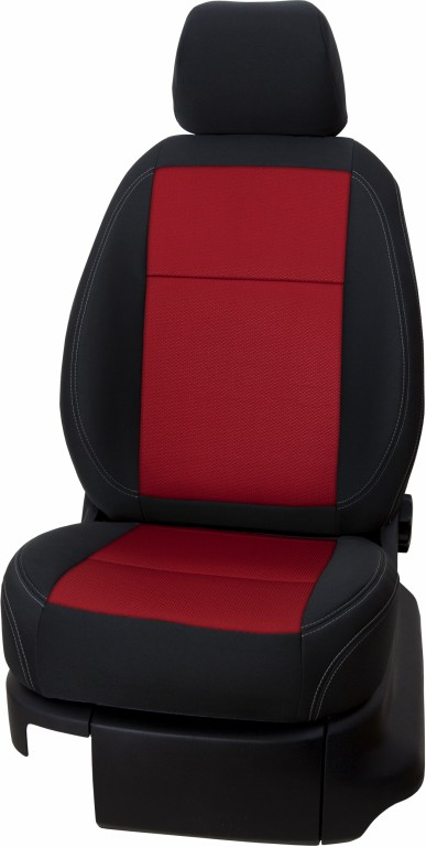 Autopoťahy OCTAVIA III Exclusive red